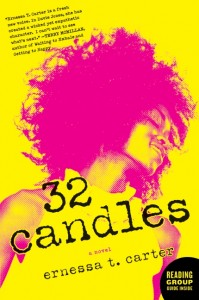 Book cover: 32 Candles by Ernessa Carter