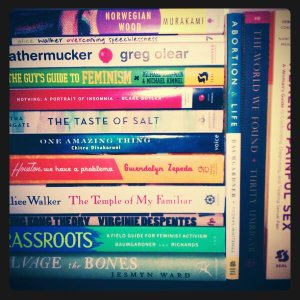 Stack of all the books listed in IMM 11/6/11 post
