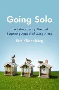 Book cover: Going Solo by Eric Klinenberg