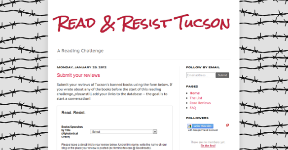 Read & Resist Tucson