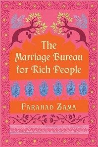 Book cover: The Marriage Bureau for Rich People by Farahad Zama