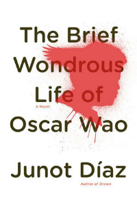 Book cover: The Brief Wondrous Life of Oscar Wao by Junot Diaz