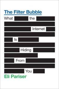 Book cover: The Filter Bubble by Eli Pariser