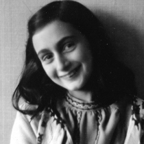 Anne Frank photo by Peter van Pels, 1941-1942