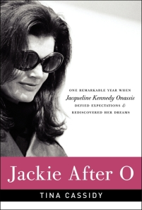 Book cover: Jackie After O by Tina Cassidy