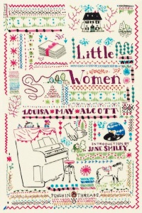 Book cover: Little Women by Louisa May Alcott (Penguin Threads edition)