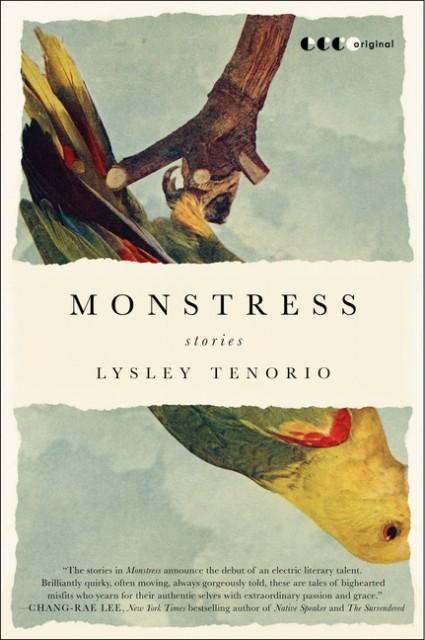 Book cover: Monstress by Lysley Tenorio