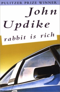 Book cover: Rabbit is Rich by John Updike