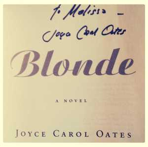 "Autographed ""Blonde"""