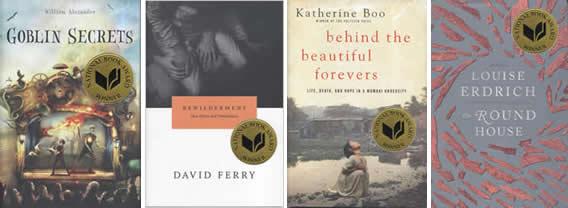 2012 National Book Award Winners