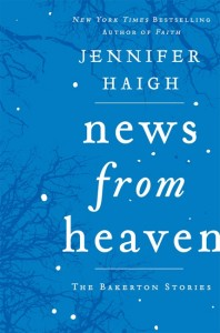 Book cover: News from Heaven by Jennifer Haigh