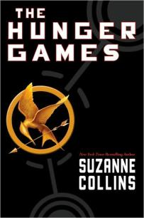 Book cover: The Hunger Games by Suzanne Collins