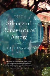Book cover: The Silence of Bonaventure Arrow by Rita Leganski
