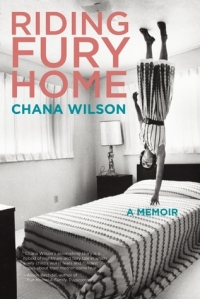 Book cover: Riding Fury Home by Chana Wilson
