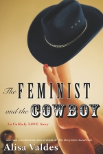 Book cover: The Feminist and the Cowboy by Alisa Valdes