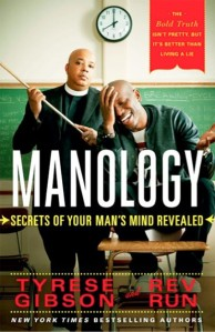 Book cover: Manology by Tyrese Gibson and Reverend Run