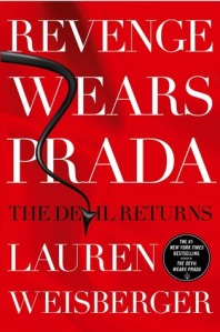Book cover: Revenge Wears Prada by Lauren Weisberger