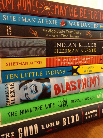 Texas Book Fest stack