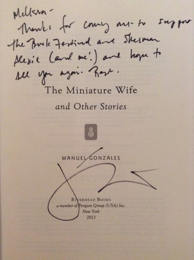 The Miniature Wife signed