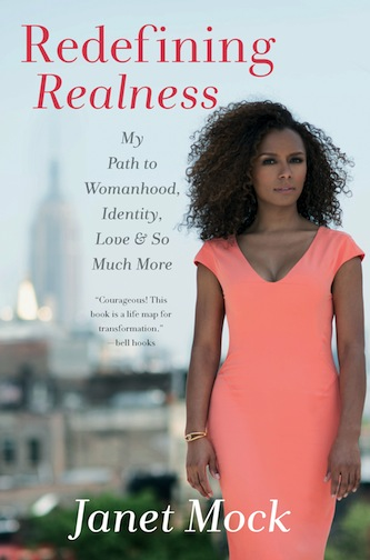 Book cover: Redefining Realness by Janet Mock