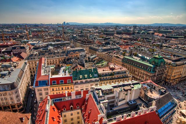 Vienna. Photograph by Miroslav Petrasko