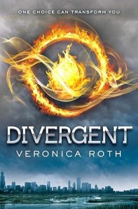 Book cover: Divergent by Veronica Roth