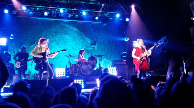 Sleater-Kinney, Minneapolis, 2/14/15