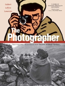 Book cover: The Photographer by Emmanuel Guibert