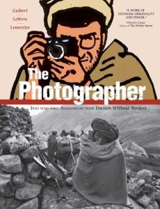 Book cover: The Photographer by Emmanuel Guibert