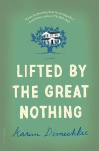 Book cover: Lifted by the Great Nothing by Karim Dimechkie