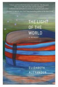 Book cover: The Light of the World by Elizabeth Alexander