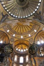 Inside Hagia Sophia, Istanbul, Turkey