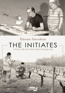 Book cover: The Initiates by Etienne Davodeau