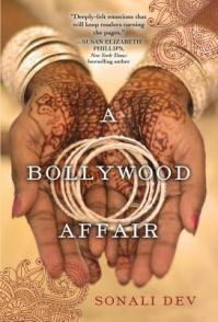 Book cover: A Bollywood Affair by Sonali Dev