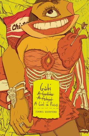 Book cover: Gabi, a Girl in Pieces by Isabel Quintero