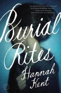 Book cover: Burial Rites by Hannah Kent
