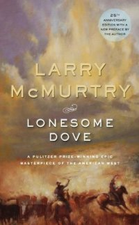 Book cover: Lonesome Dove by Larry McMurtry