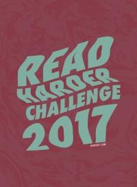 Read Harder Challenge logo 2017
