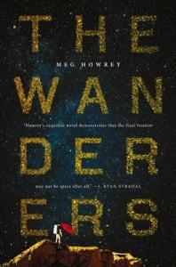 Book cover: The Wanderers by Meg Howrey
