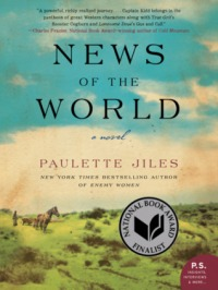 Book cover: News of the World by Paulette Jiles