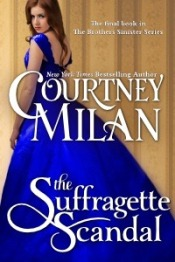 Book cover: The Suffragette Scandal by Courtney Milan