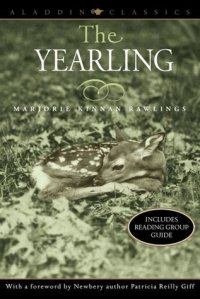 Book cover: The Yearling by Marjorie Kinnan Rawlings